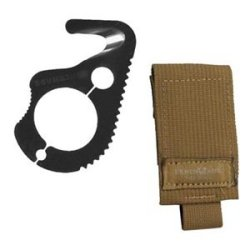 Rescue Hook, 2.9 In, Black, Adc Soft Sheath