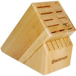 Wusthof 17 Slot Beechwood Knife Block 7267-1