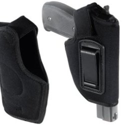 Concealed Belt Holster, Fits Compact & Subcompact Pistols, Black Concealed Belt Holster, Fits Compa