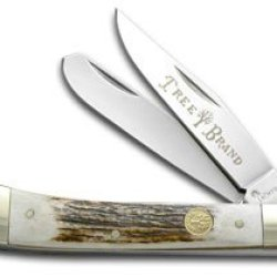 Boker Tree Brand Traditional Series Deer Stag Trapper Stainless Pocket Knife
