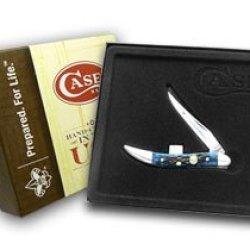 Case Xx Boy Scouts Navy Blue Tiny Toothpick Pocket Knife Knives