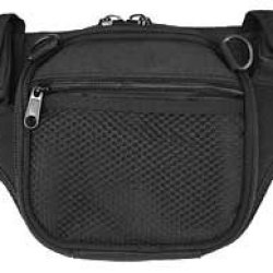 Ka-Bar Tdi Black Polyester Self-Defense Fanny Pack 2-1490-5