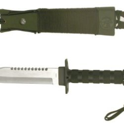 Jungle King Hunting Knife With Nylon Sheath