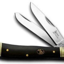 Steel Warrior Trapper Buffalo Pocket Knife Knives