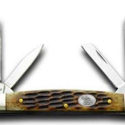 Steel Warrior Little Congress - Autumn Second Cut Jigged Bone Handles Pocket Knife Knives