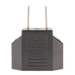 Us Plug To Eu Plug Ac Power Adapter (120-240V)