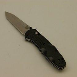 Benchmade Barrage Tanto Folding Knife, Plain Edge 583