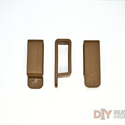Diy Kydex Holster Belt Loops, 1.25 Inch Belts, Coyote Brown - 2 Pack