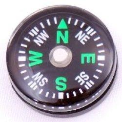 Wholesale Lot 192Pcs Hammers Brand Liquid Filled 20Mm Small Mini Compasses Survival Kit Compass (Green)
