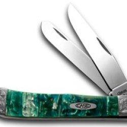 Case Xx Engraved Bolster Series Genuine Cloudland Corelon Trapper Pocket Knives