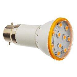 3 W B22 10 X5050Smd Lm 3000 K, 180-200 The Warm White Led Bulb Size (200-240 - V)