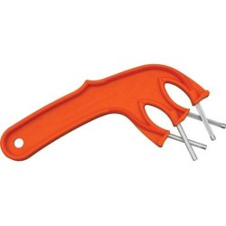 Edgemaker 331O Pro Edgemaker With Orange Unbreakable High-Impact Plastic Handles
