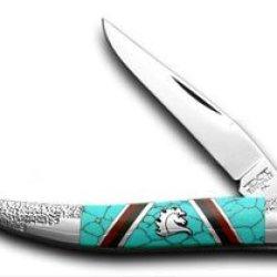 Schatt & Morgan David Yellowhorse Logo Toothpick 1/100 Pocket Knife Knives