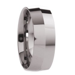 8 Mm Mens Tungsten Carbide Rings Wedding Bands Knife Edge Polished - Free Engraving, Free Shipping & Lifetime Warranty - Size 7, 7.5, 8, 8.5, 9, 9.5, 10, 10.5, 11, 11.5, 12, 12.5, 13