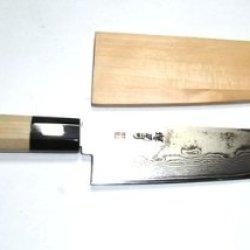 Sakai-Gatana Tsukasa Damascus Japanese Knives ( Gyuto ) 21Cm, With Wooden Sheath
