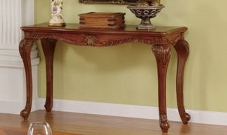 Image of 1-pc Console Table in Walnut Finish PDS F60233 (B004RPVLYI)