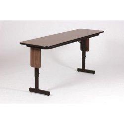 "Rectangular Folding Table Finish: Dove Gray, Size: 72"" W X 18"" D"