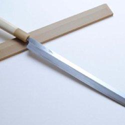 Yoshihiro High Carbon Shiroko Kasumi Takobiki Sushi Sashimi Japanese Chef'S Knife 11.8Inch (300Mm)