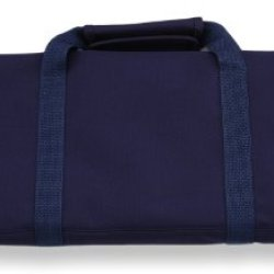 Messermeister 12 Pocket Knife Roll, Navy
