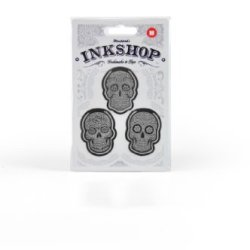 "Mustard Ink Shop ""Skulls"" Metal Bookmarks / Clips (M16015A)"