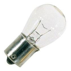 Satco S3623 12V Sc Bayonet Base 12-Watt S8 Light Bulb, Clear