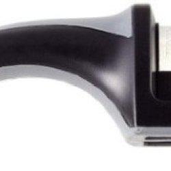 2-Stages Pronto Manual Diamond Hone Knife Sharpener For Straight-Edged Kitchen,Household,Sa... Sports, Pocket...