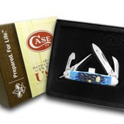 Case Xx Boy Scouts Navy Blue Jr Scout Pocket Knife Knives
