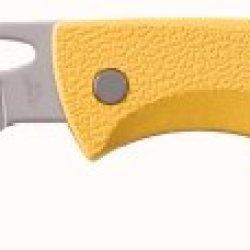Gerber 46971 E-Z Out Rescue Knife, Yellow, Blunt Tip