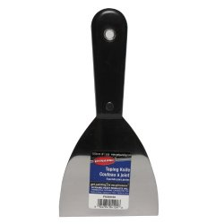 Dynamic Fa004104 Flexible Putty Knife With Black Handle, 4-Inch