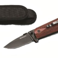 Remington Officers Closed Knife (4 1/4-Inch, Blued)
