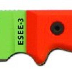 Esee Model 3 Venom Green Drop Point Blade