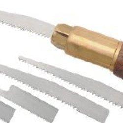 Brass And Walnut Pro Pumpkin Carving Tool Kit