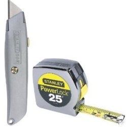 Tape 1X25 W/Utl Knife St (Pkg Of 3)