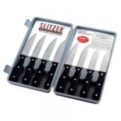 Slitzer Tm 8Pc Professional German-Style Jumbo Steak Knives