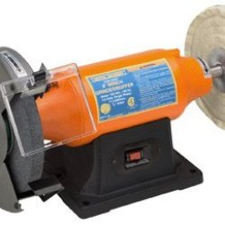 "Central Machinery 8"" Bench Grinder/Buffer"