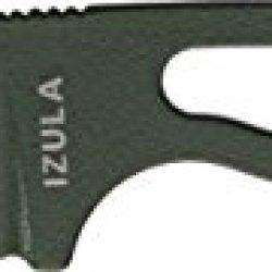 Esee Izula Od Green Fixed Blade Knife, 2.5In, Drop Point, Skeletonized Handle Rciod