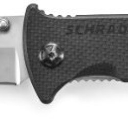 Schrade Sch102 Honed Tanto Blade Liner-Lock Folding Knife