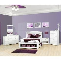 Image of Dixie Kids Bedroom Furniture Set 4 - Nexera Furniture - 400158 (B004CR0GDS)