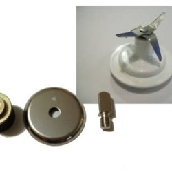 New For Oster Replacement Part Osterizer Coupling Stud Slinger Pin Kitchen Center+For Hamilton Replacement Part 4 Knife Blender Blade