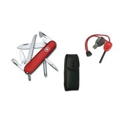 Victorinox Swiss Army Hiker And Firestarter Combo