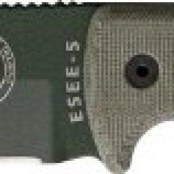 Esee Model 5 - Survival, Escape, Evasion Knife Plain Od Green Blade