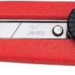 Nt Cutter Heavy-Duty Abs Grip Screw-Lock Utility Knife (L-500P)