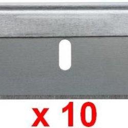 10 Brand New Single Edge Razor Blades Envelope Paper Box Cutter Opener Scrapper
