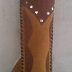 Archery Genuine Leather Quiver Bow Arrow Shooting Hunting