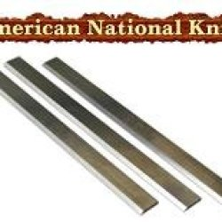 6-1/8 X 19/32 X 3/32 Ct Planer Blades - Delta 37-658, 37-205, 37-220, 378-190, 37-195 - Set Of 3.