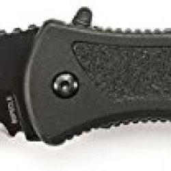 Smith & Wesson Bspecls Large Special Ops Liner Lock M.A.G.I.C. Assisted Opening Knife, Black