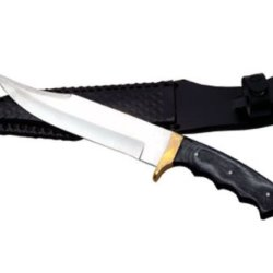 Sale 12In Mountain Lion Bowie Knife