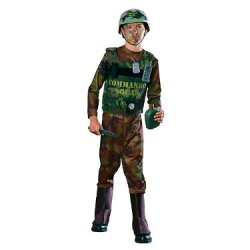 Boy'S Commando Squad Costume