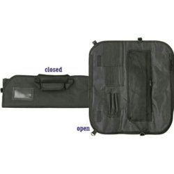 Ac 142 Carry All Chef'S Knife Case Holds 8 Knives With Black Nylon Construction