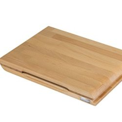Artelegno 30 Torino Double Sided Cutting Board With Magnetic Knife Storage Solid Beech Wood Oiled Finish 11,8 X 7,87 X 1.77
